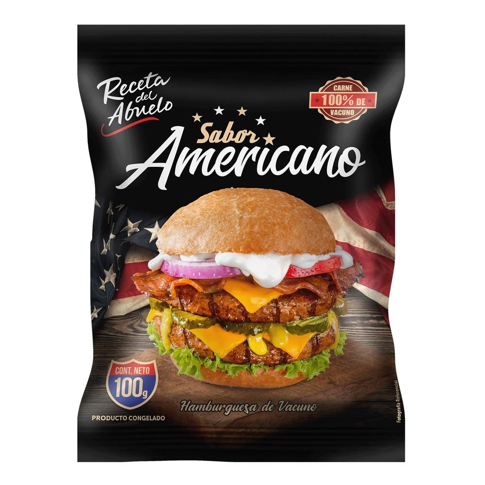 Hamburguesa sabor americano