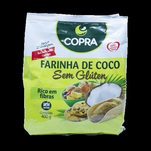 Harina de coco sin gluten Bolsa 400 g