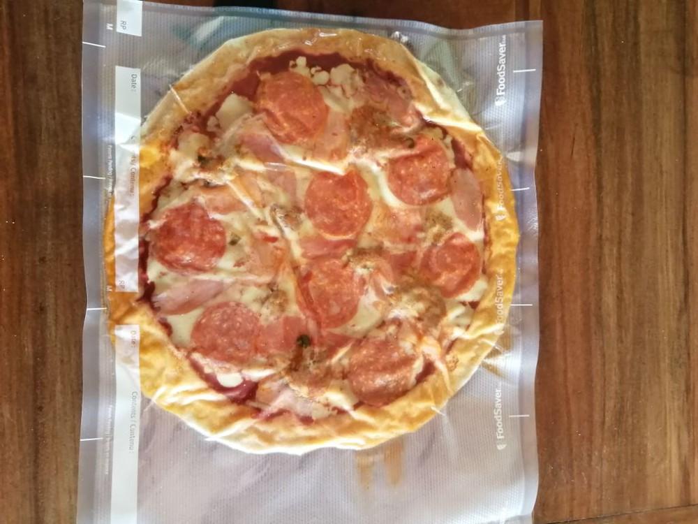 Meat lovers 25 cm de diámetro, ideal para almacenar en cualquier refrigerador de casa