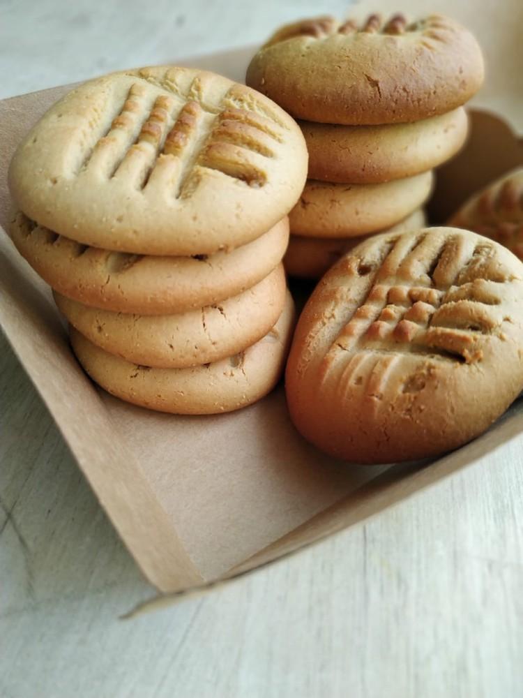 Galletas de Mantequilla de Maní libres de gluten 10 unidades