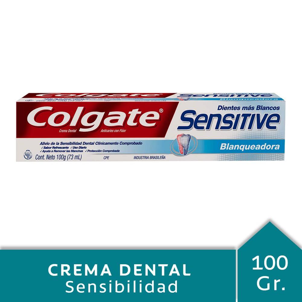 Crema dental con flúor sensitive