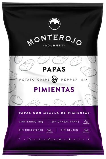 Papas pimientas