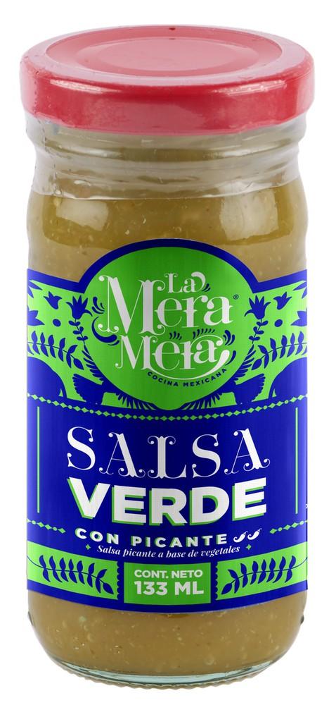 Salsa verde de tomatillo. 133 ml