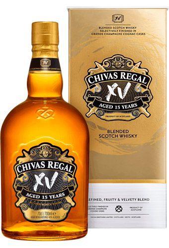 Chivas xv gold bottle