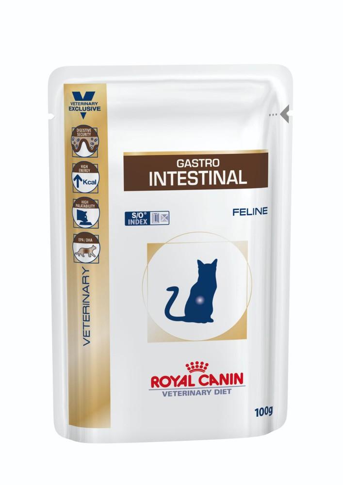 Pouch gastrointestinal gato
