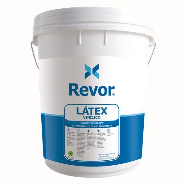 Latex vinilico  blanco tineta 36 x 32 cm