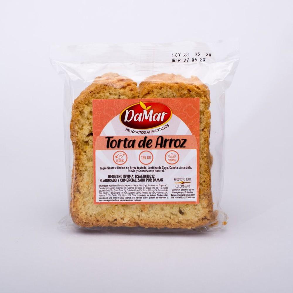 Torta de arroz Und 125g