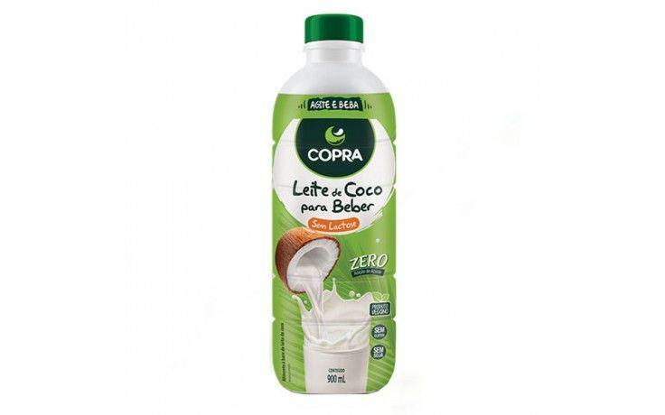 Leite de coco para beber sem lactose