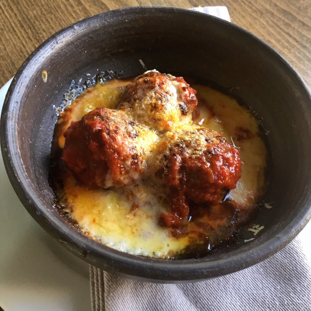 Polpette di carne e pomodoro 1 Paquete de albóndigas + 1 paquete de salsa bechamel ( 660g total)