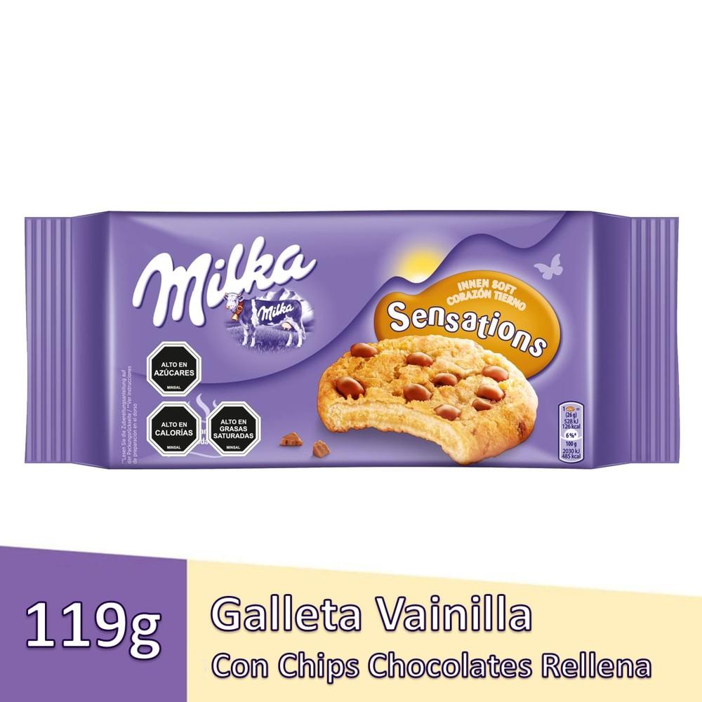 Galletas sensations leche