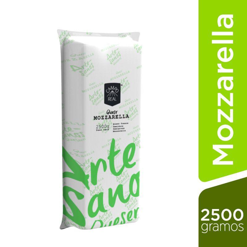 Queso Mozzarella bloque (entero) Bloque 2500 g