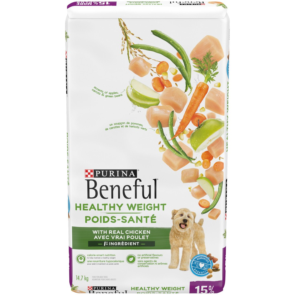 Healthy weight dog food chicken