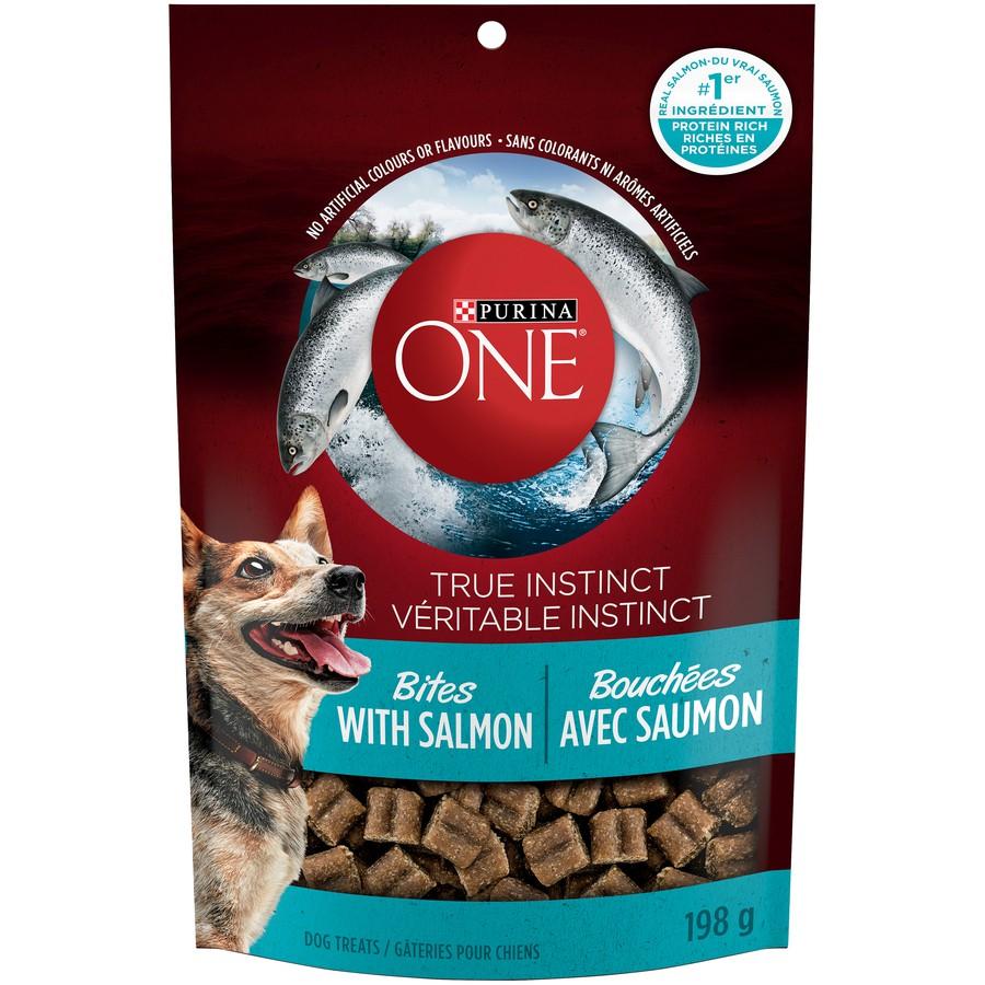 True instinct bites natural dog treats salmon