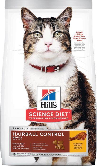 Alimento para gato adulto hairball control