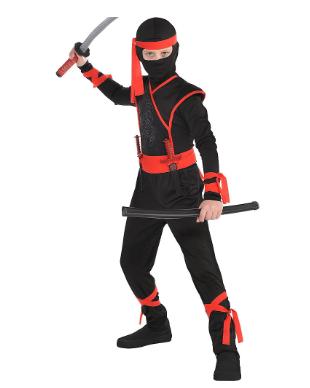Disfraz talla 12-14 shadow ninja