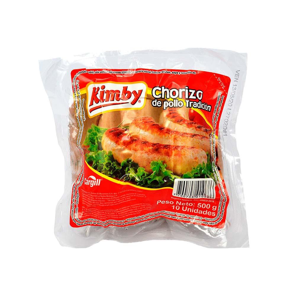 Chorizo pollo tradicional Kimby