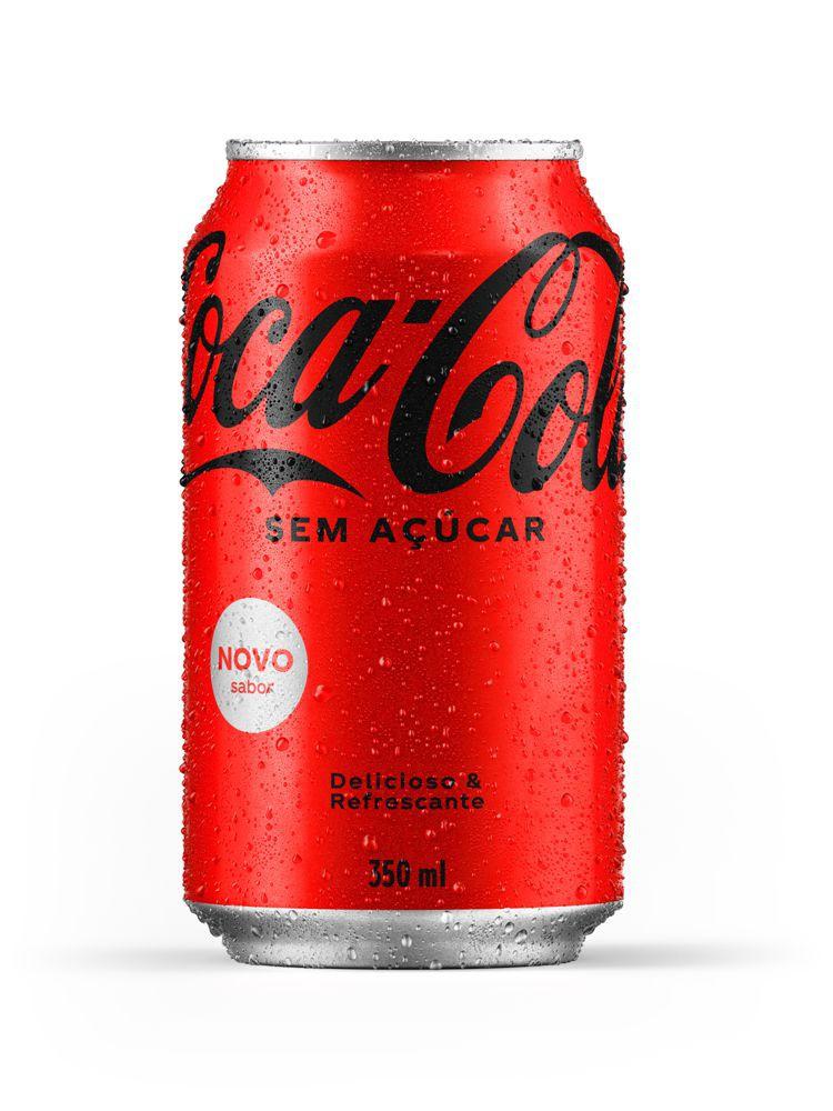 Refrigerante de cola sem açúcar