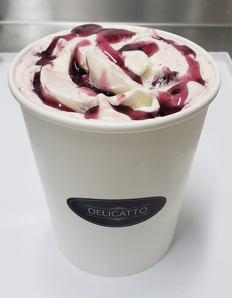 Yogurt griego frambuesa Pote 1 litro