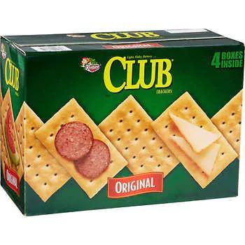 Keebler Club Crackers, Original, 13.7 oz, 4-count