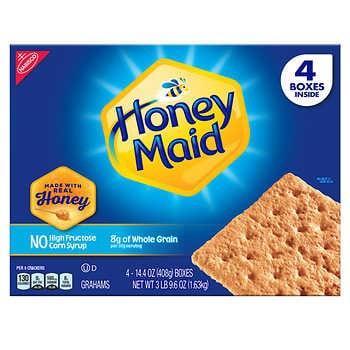 Honey Maid Graham Crackers 14.4 oz, 4-count