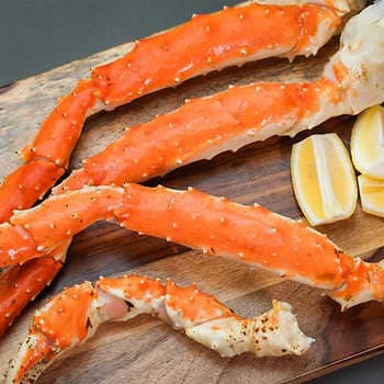 Northwest Fish Wild Red King Crab 6 9 Count 10 Lbs Northwest Fish Company 10 Lbs Delivery Cornershop By Uber