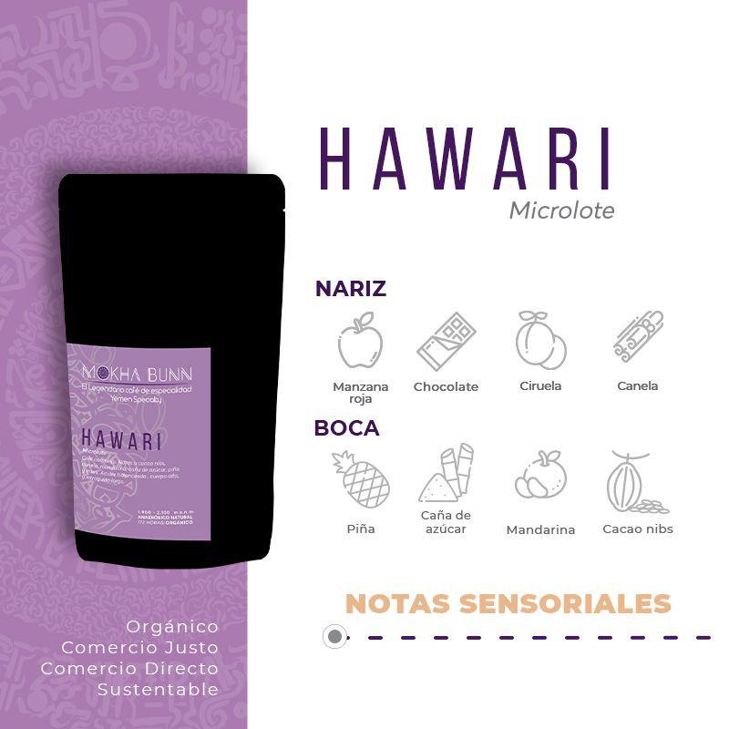 (Nuevo) Hawari   Molido Para Prensa Francesa   Café De Especialidad De Yemen 250 gr