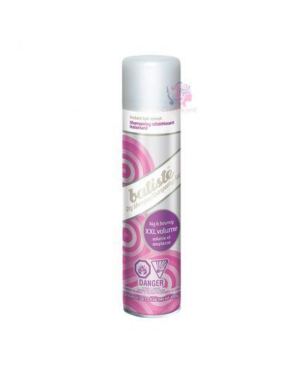 Shampoo seco xxl volumen brillo control frizz y grasa 200ml Envase 200ml