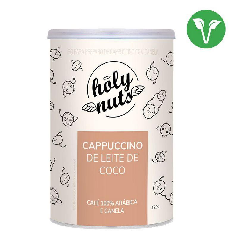 Cappuccino de leite de coco