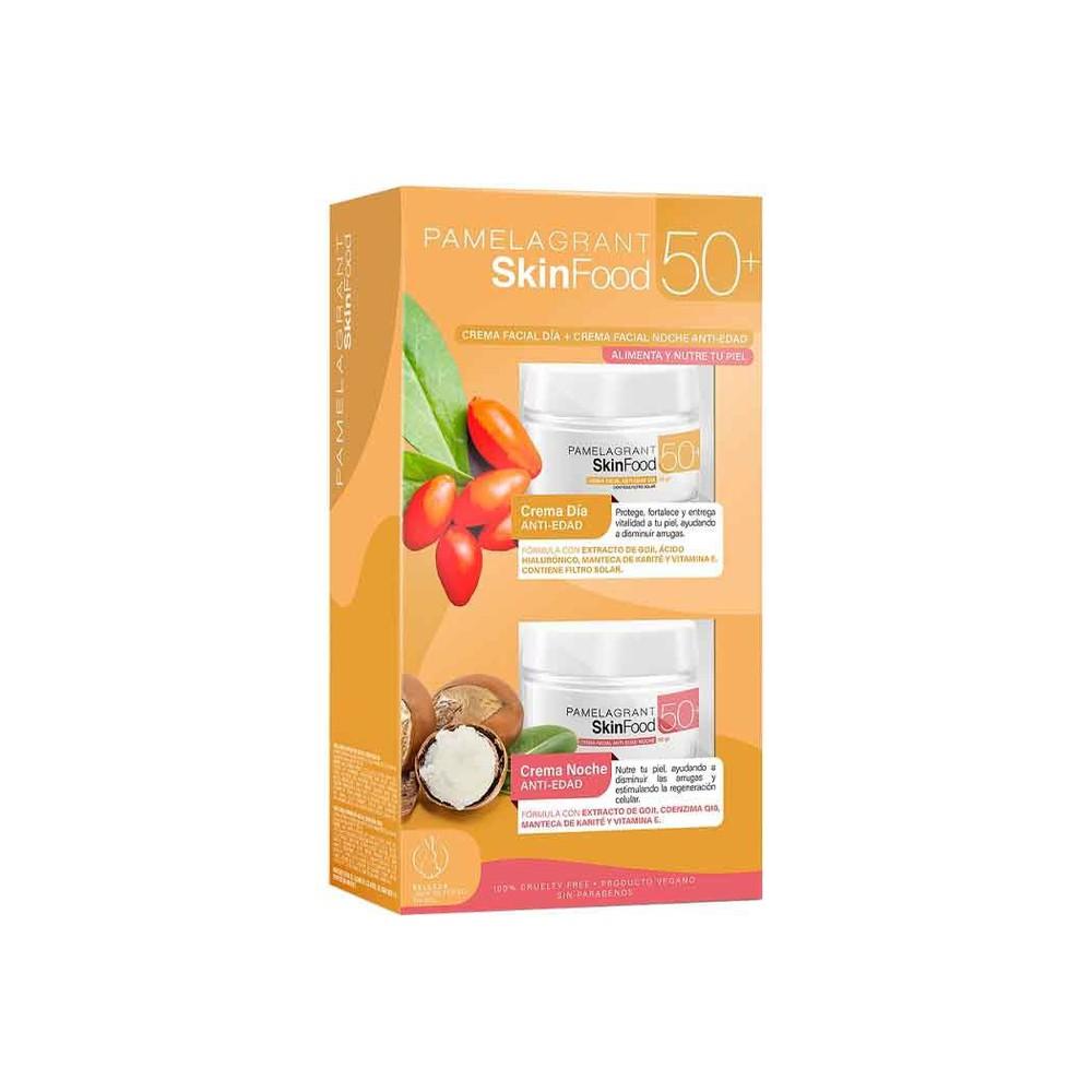 Set pg skinfood antiage +50 cr día+noche
