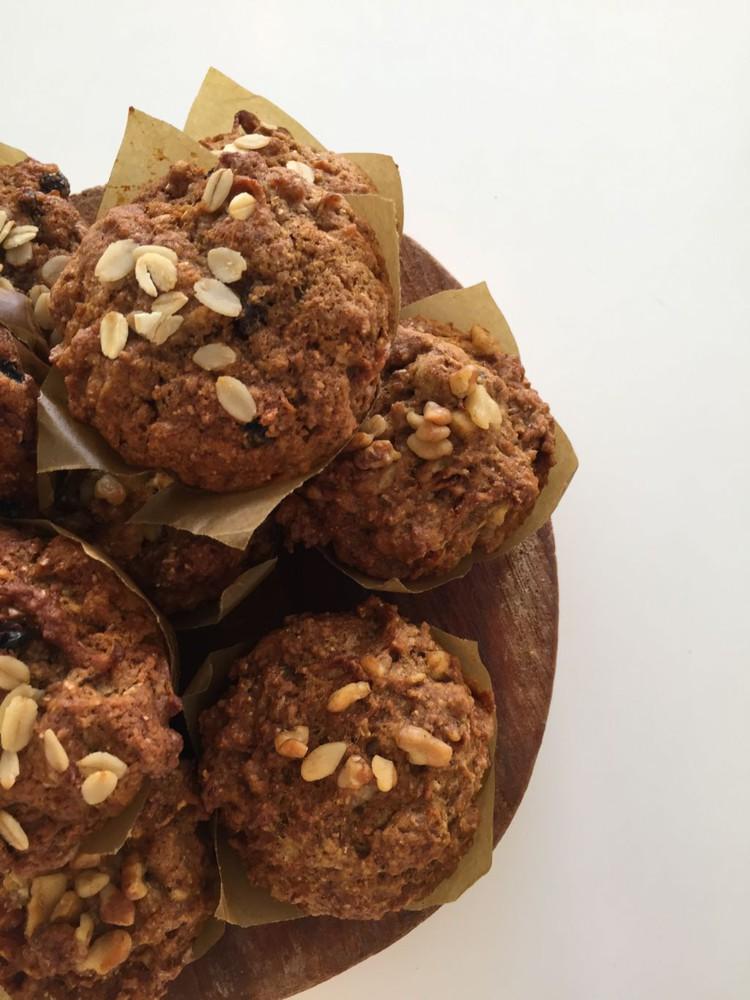 Muffins variedades caja de 6 unidades