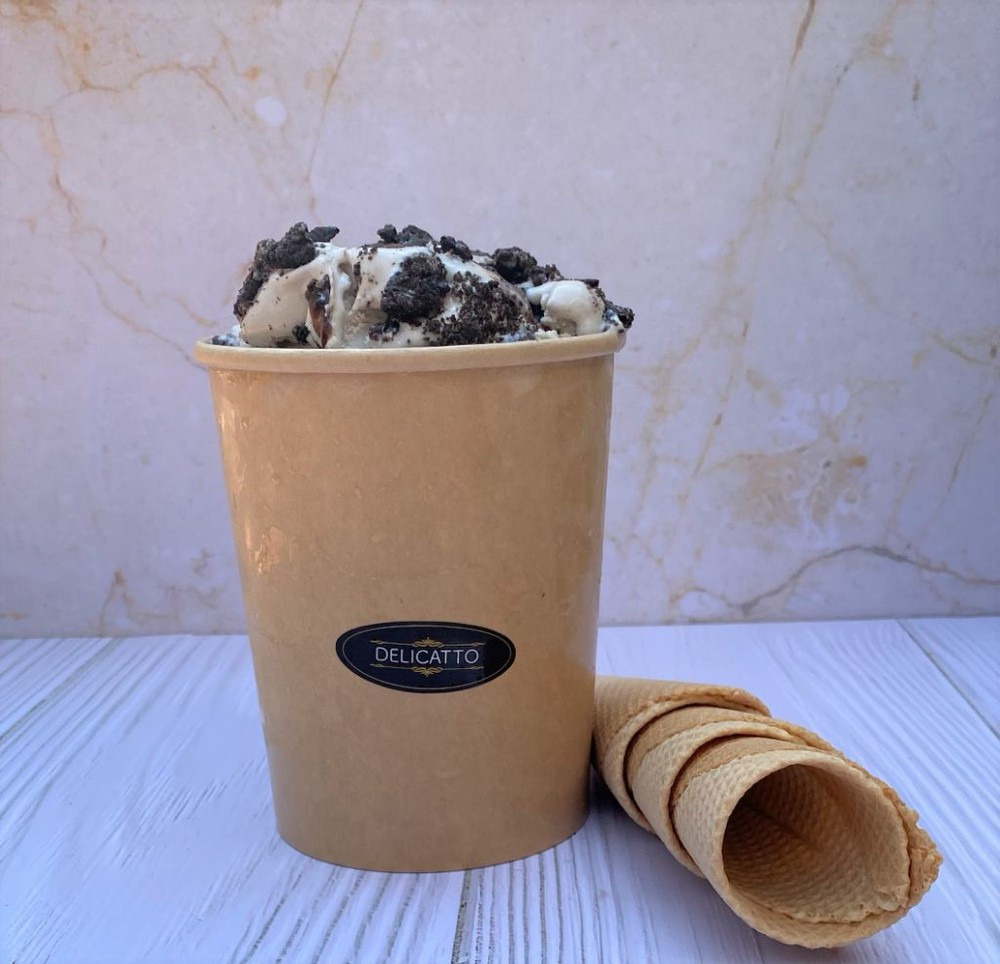 Helado cookies and cream 1 Litro (32 oz)