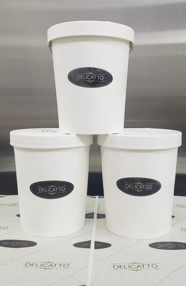 3 helados de litro (1 Premium, 2 Clásico) Pote Litro