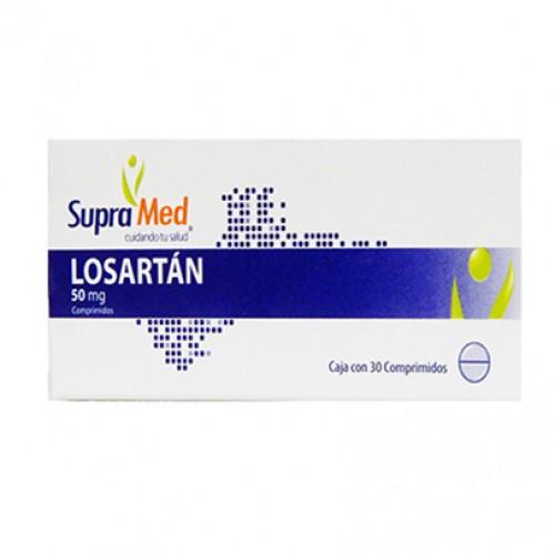 Gi Supramed Losartan Cja 30 Caps 50 Mg