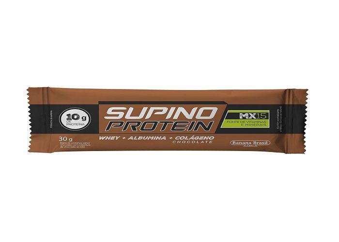 Barra de proteína Supino protein chocolate