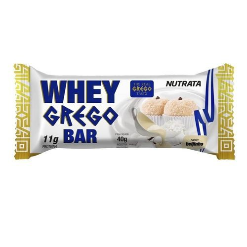 barra de proteína whey grego bar beijinho