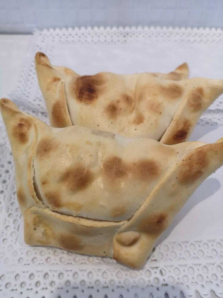 Empanada camaron y queso