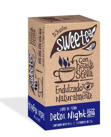 Te detox night c/stevia