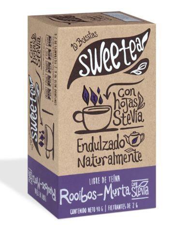 Te roiboos murta c/stevia 20un.