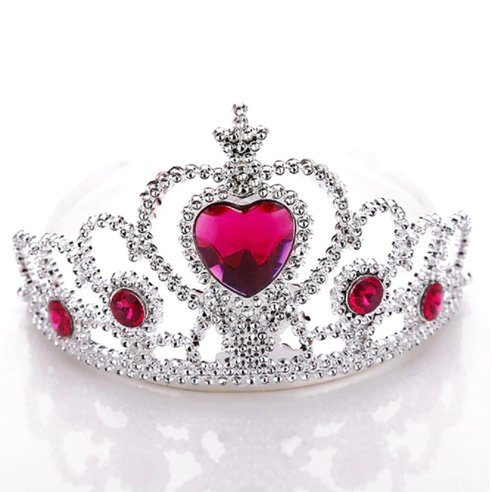 Corona Corazón Rosada Individual