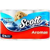 Papel higienico Aromas