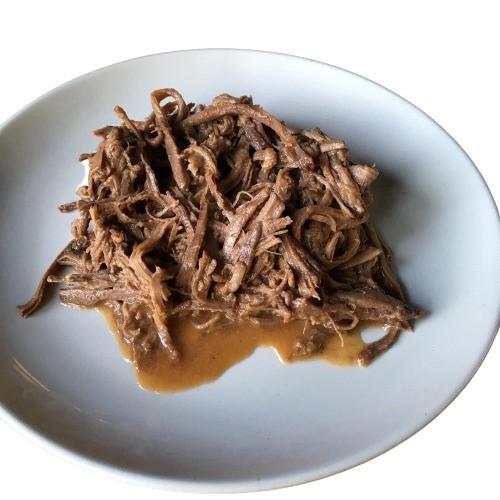 Carne desmechá (carne vacuna orgánica) 400 g