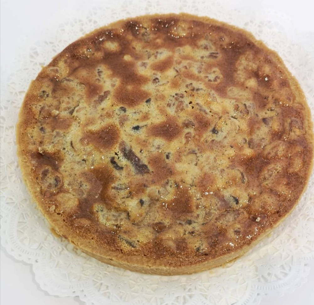 Tartaleta individual leche condensada y nuez