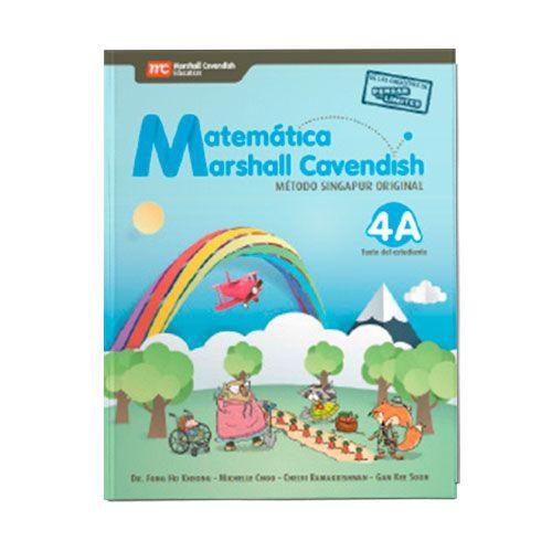 Matemática Marshall Cavendish 4° Método Singapur Original
