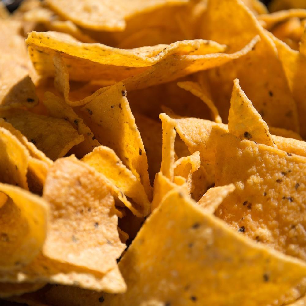 Chips de maíz – triangulares Bolsa de 500g