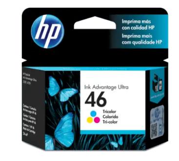 Tinta Cartridge Hp 46 Cz638Al Color