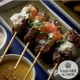 Kebabs de cordero Bolsa Sous-Vide 300gr