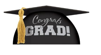 Decoración para pastel de graduación