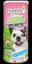 Shampoo seco oatmeal baking soda
