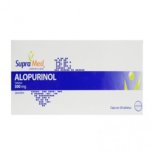 Gi Supramed Alopurinol 20 Tab 300 Mg