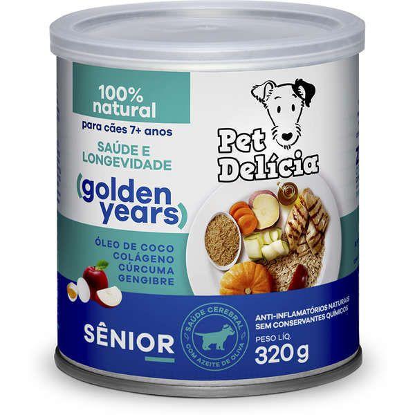 Alimento úmido para cães sênior 320g